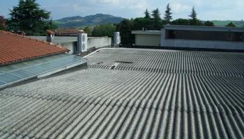 Rifacimento copertura con isolamento termico di fabbricato industriale