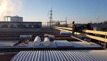 Rimozione amianto da copertura aziendale e bonifica del tetto con realizzazione nuova copertura
