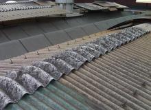 Rimozione amianto con realizzazione nuova copertura