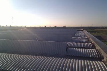 Realizzazione nuova copertura industriale post rimozione eternit e smaltimento amiano a Verona