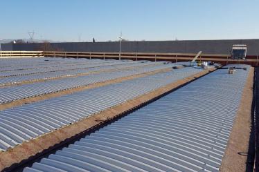 Realizzazione nuova copertura su fabbricato cantiere Fratelli Sartori