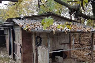 Intervento di microraccolta amianto su piccola costruzione