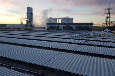 Rimozione eternit e smaltimento amianto da copertura fabbricato azienda F.lli Sartori Castelnuovo del Garda (VR)