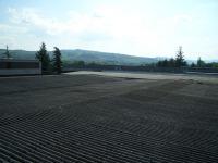 Fabbricato industriale con tetto in amianto