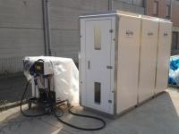 Camera di decontaminazione predisposta in ogni cantiere per bonifica eternit e rimozione amianto