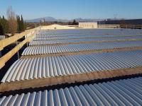 Rifacimento tetto con amianto Cantiere Fratelli Sartori