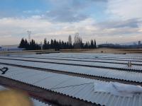 Lavorazioni per nuova copertura fabbricato in Cantiere Fratelli Sartori