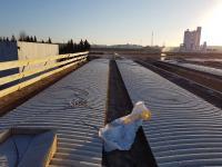 Bonifica amianto di copertura fabbricato e realizzazione nuovo tetto azienda F.lli Sartori Castelnuovo del Garda (VR)