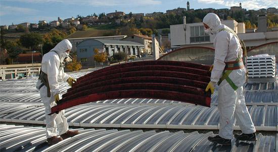 Specialisti in bonifica amianto, rimozione eternit e smaltimento asbesto
